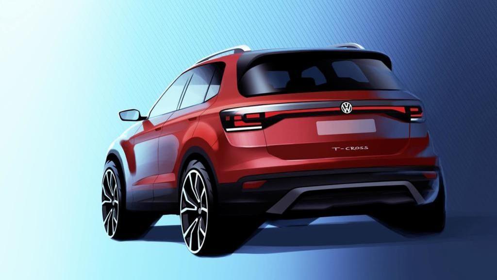 Volkswagen T-Cross render
