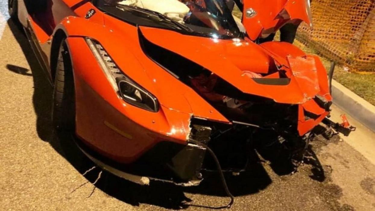 El 'pique' entre dos Ferraris que no termina muy bien (para uno)