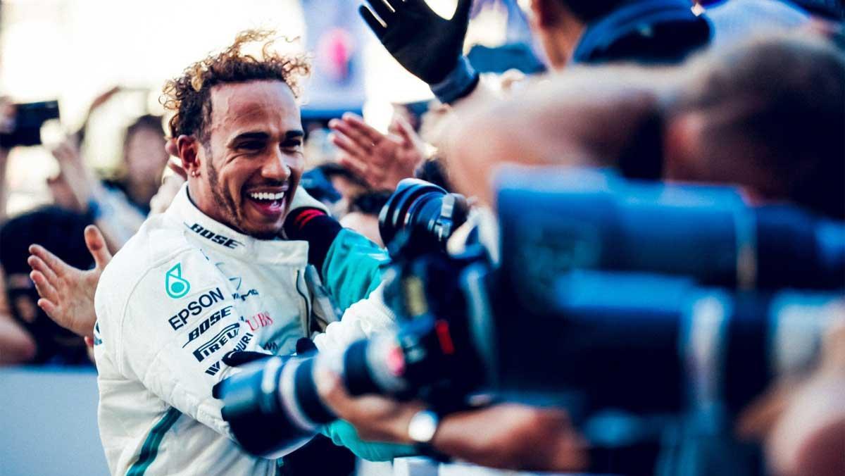 Hamilton, pentacampeón del mundo F1