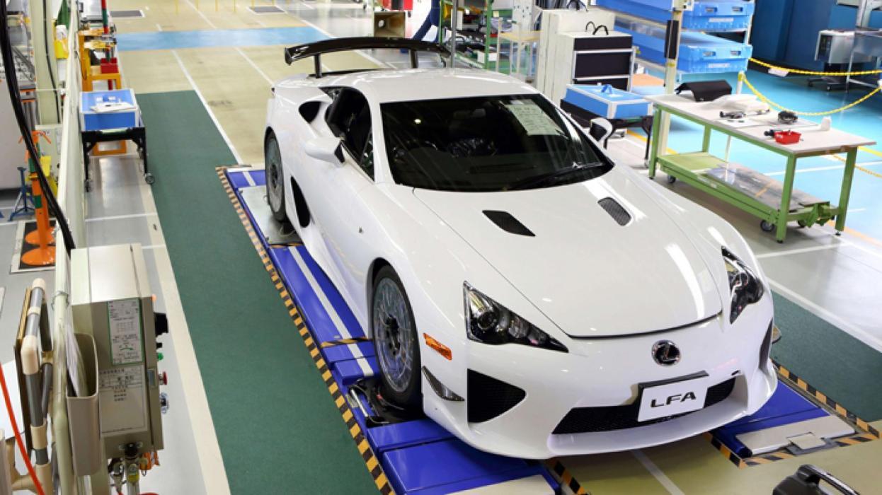 Lexus LFA número 500