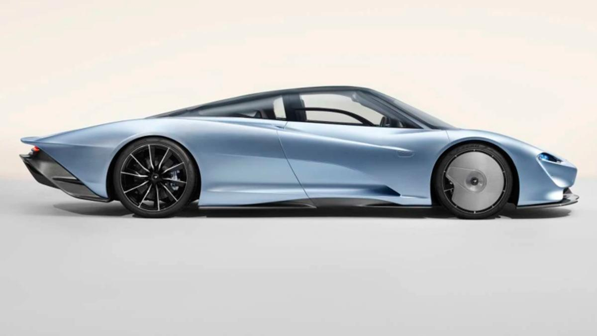 McLaren Speedtail (silueta)