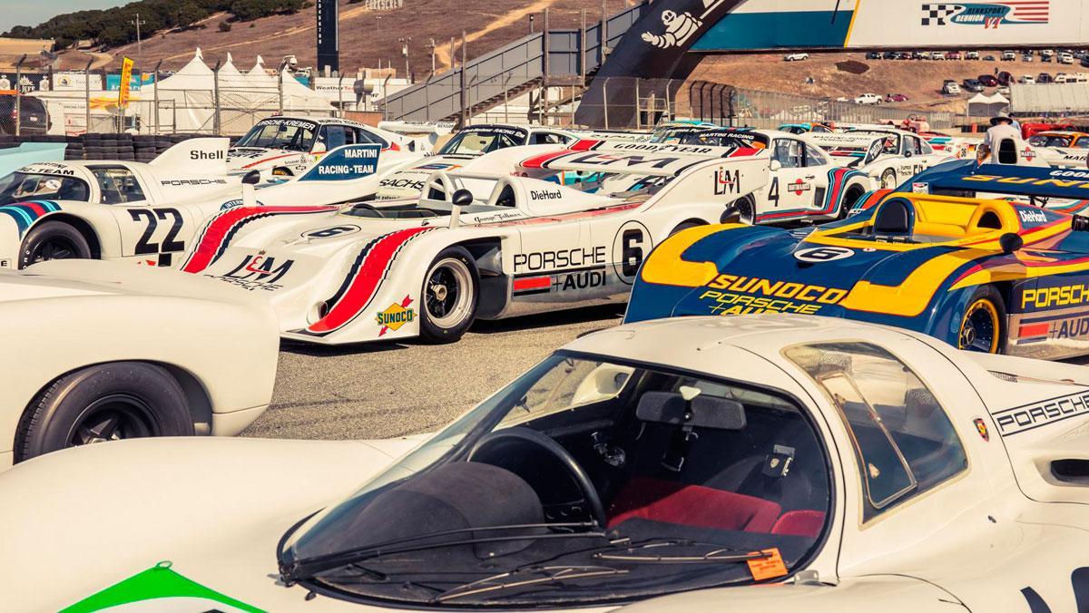 Rennsport Reunion Porsche 2018