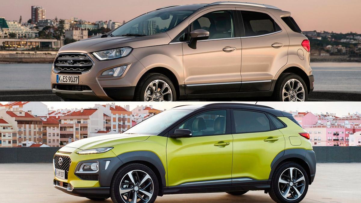 Ford Ecosport o Hyundai Kona