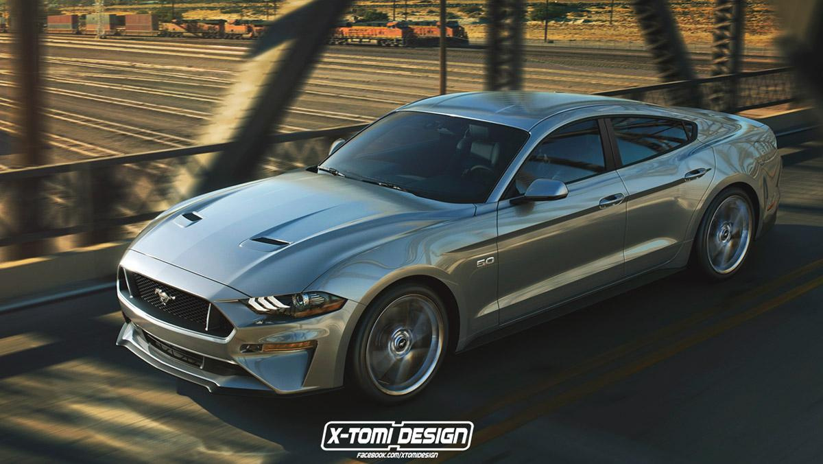 Ford Mustang 4 puertas X Tomi