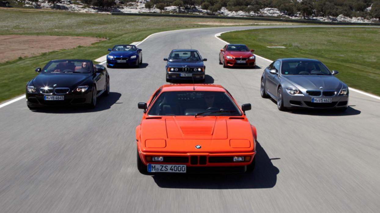 Generaciones BMW M6