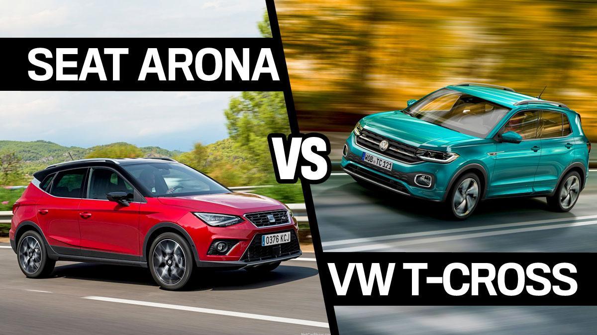 Seat Arona vs VW T-Cross