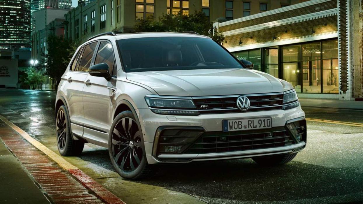 Volkswagen Tiguan Black Style R Line