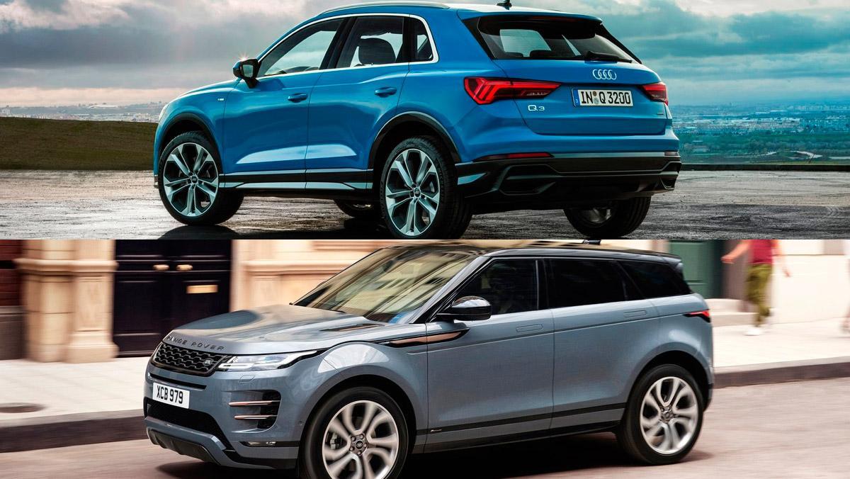 Audi Q3 2019 o Range Rover Evoque 2019