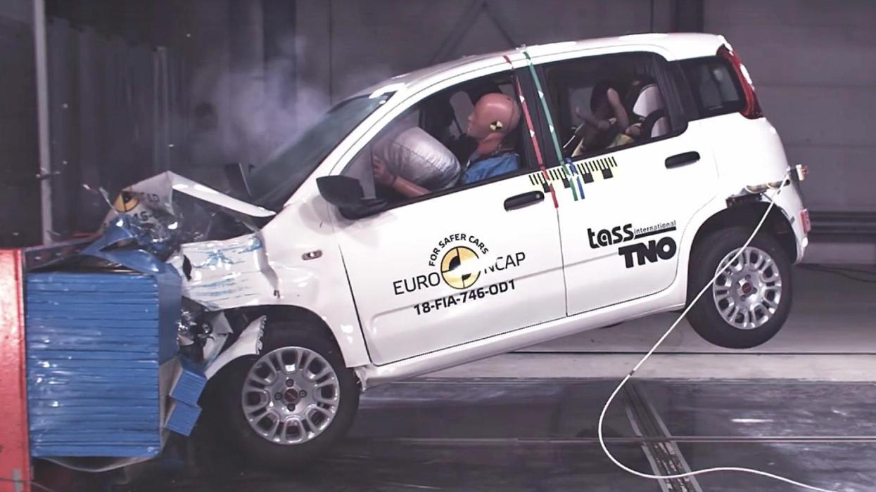Cero estrellas Euro NCAP Fiat Panda