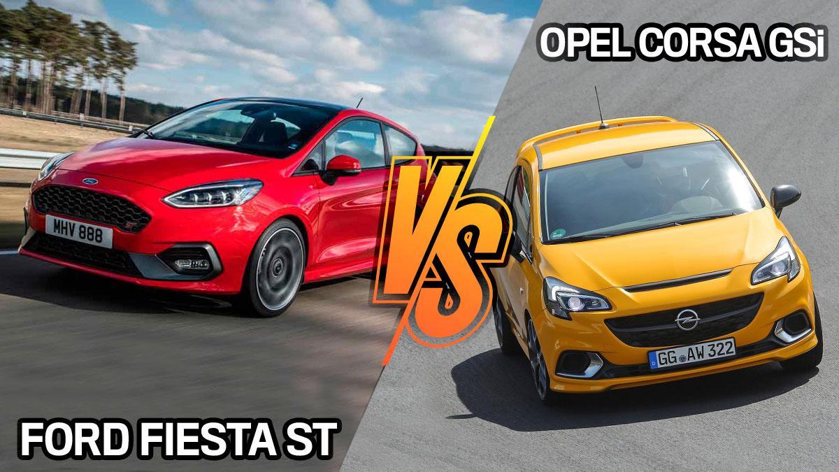 Ford Fiesta ST vs Opel Cosa GSi