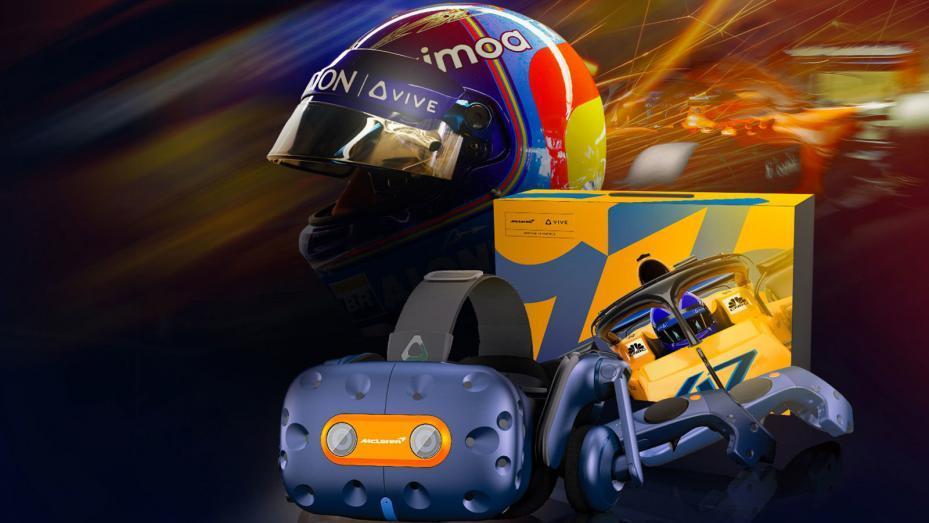 Guía de videojuegos de Top Gear: HTC Vive Pro McLaren