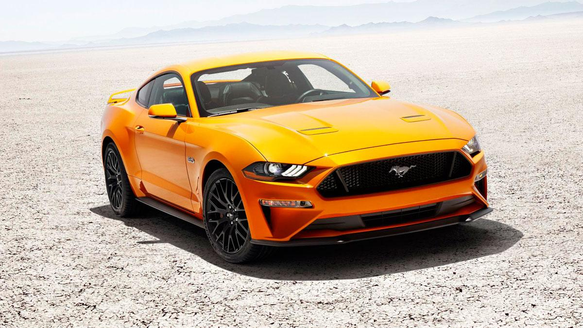 Luces Ford Mustang