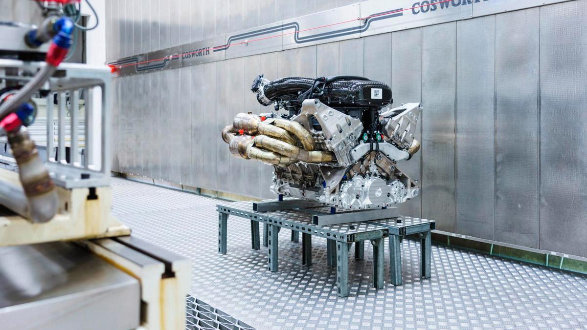 Motor del Aston Martin Valkyrie