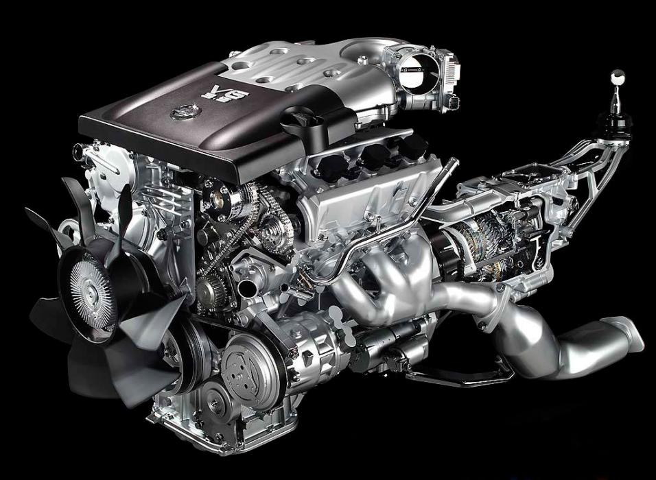 Motor Nissan 350Z