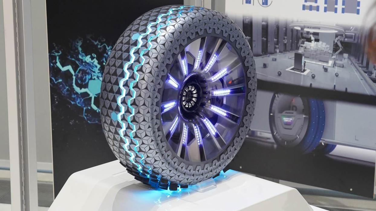 Estos podrían ser los neumáticos que usemos en el futuro