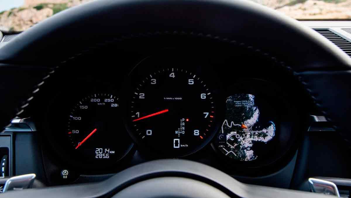 Porsche Macan cuentarrevoluciones