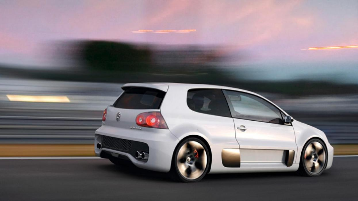Volkswagen Golf W12