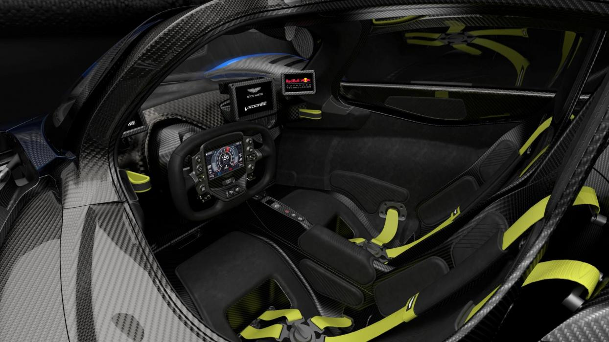 Aston Martin Valkyrie Top Gear (interior 2)