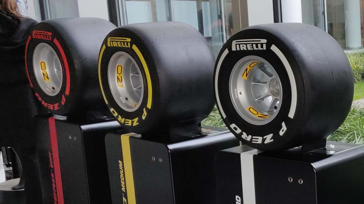 Neumáticos Pirelli F1 2019