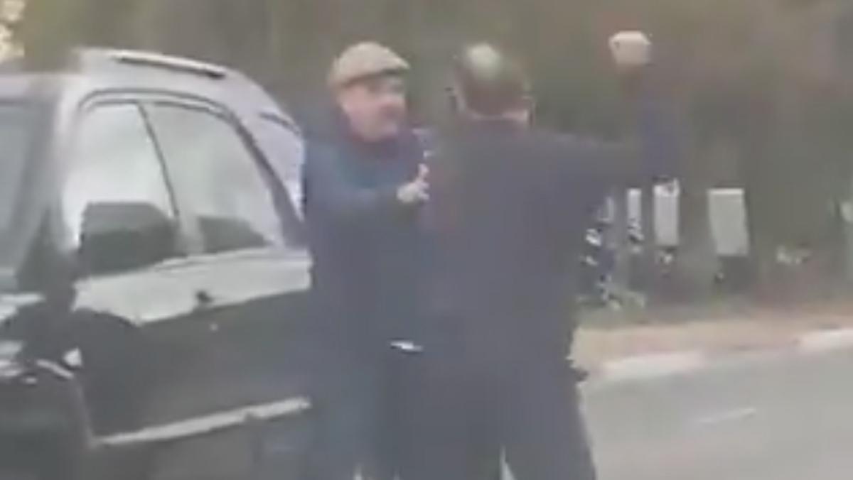 pelea conductores