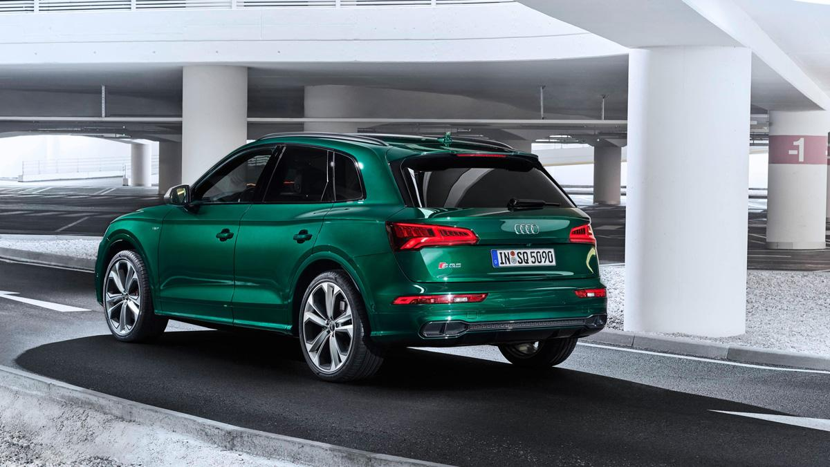 Audi SQ5 TDI 2019 (trasera)