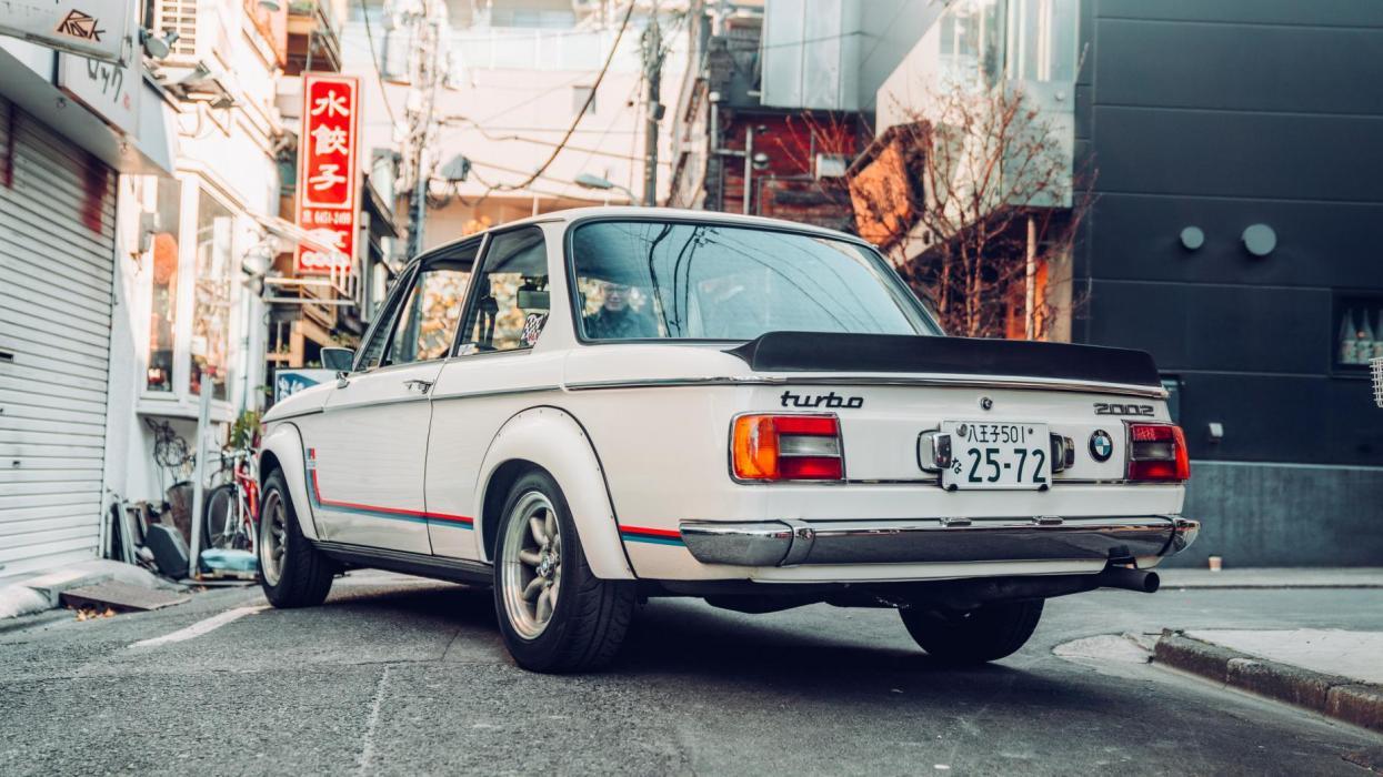 BMW 2002 Turbo (trasera)