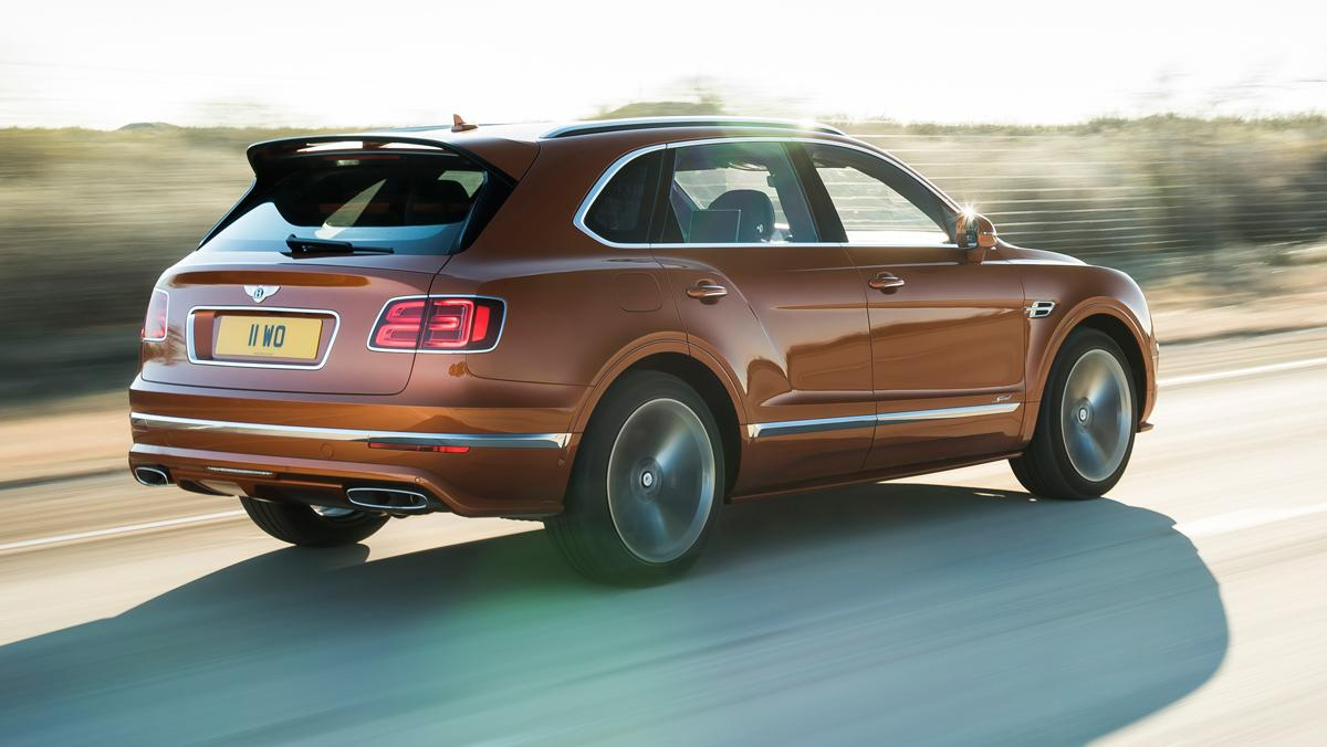Bentley Bentayga Speed (trasera 2)