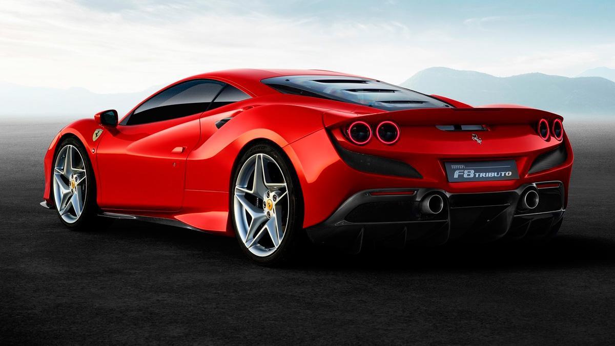 Ferrari F8 Tributo (trasera)