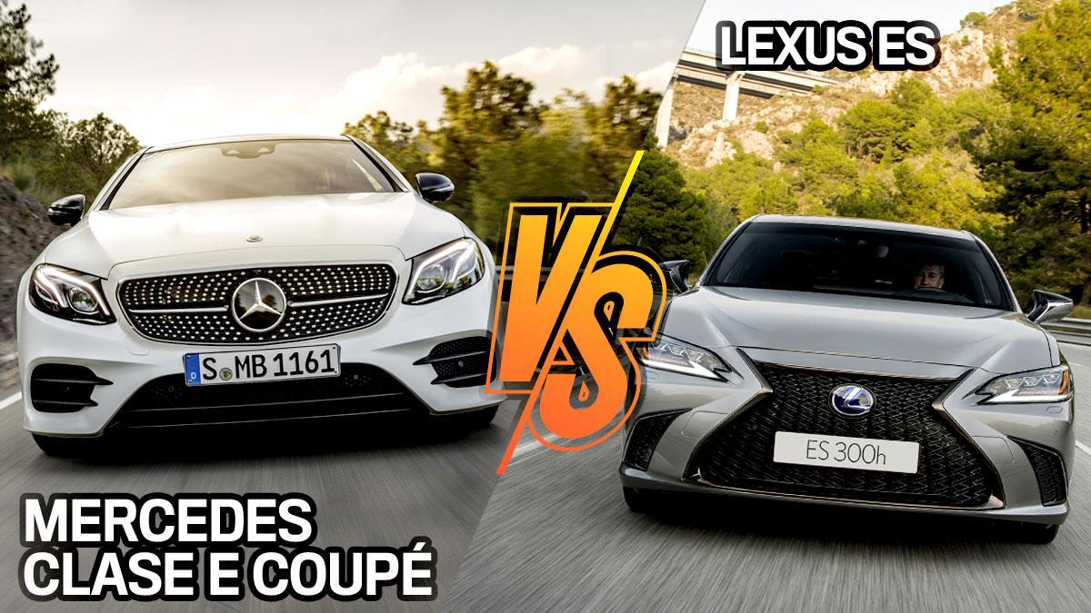 Lexus ES vs Mercedes Clase E Coupé
