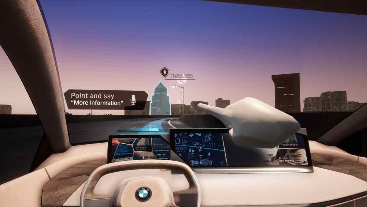 Interacción natural de BMW