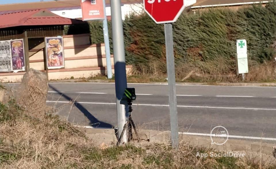 Radar Velolaser en Segovia