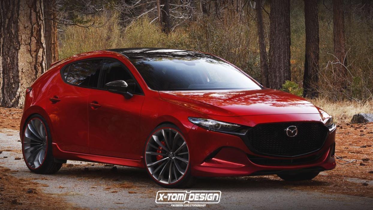 Render Mazda3 MPS