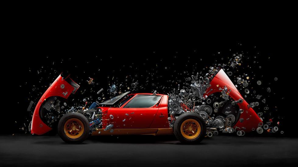 Lamborghini Miura Disintegrating X