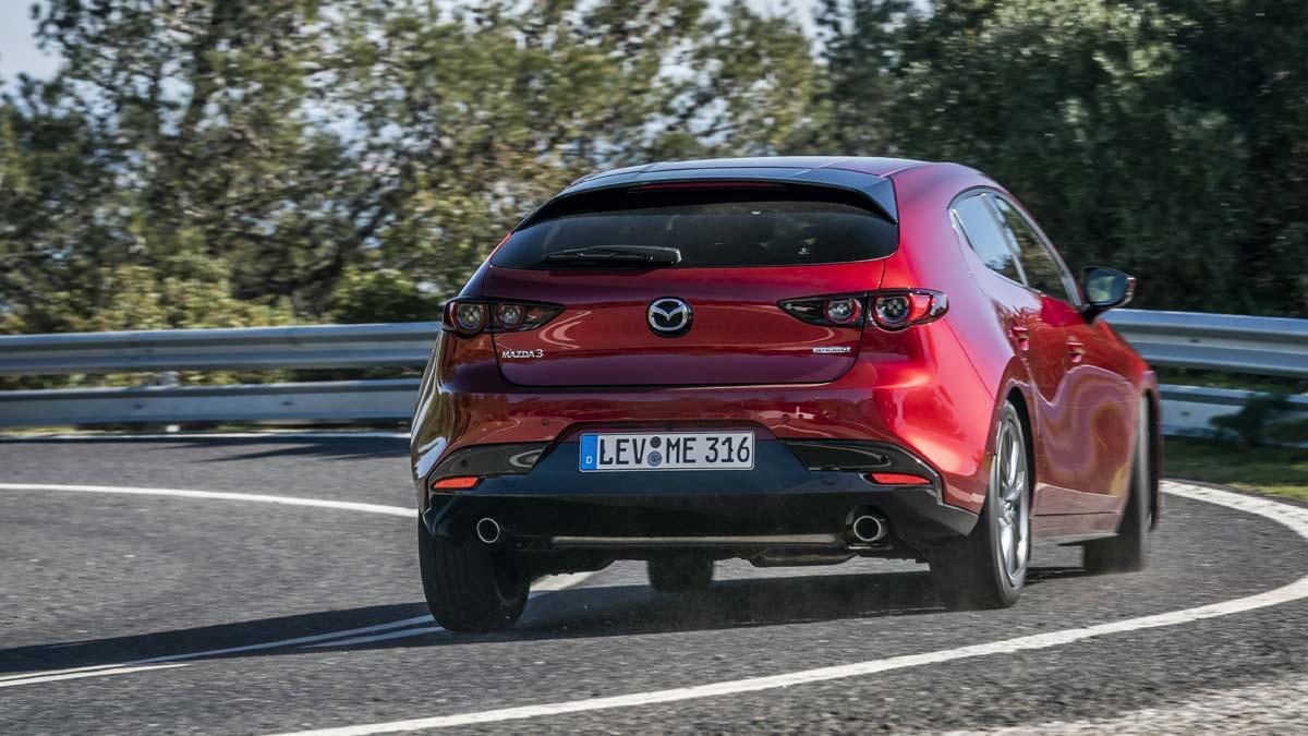 La tercera generación del compacto de Mazda