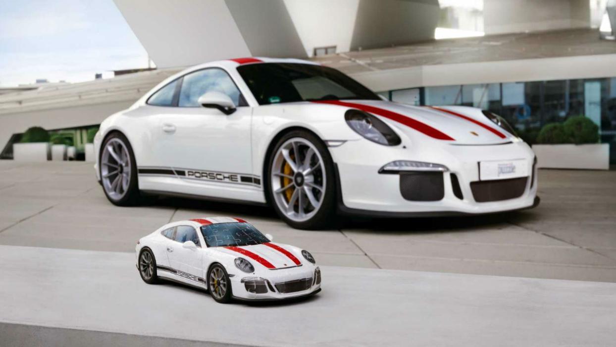 puzle 3D del Porsche 911R