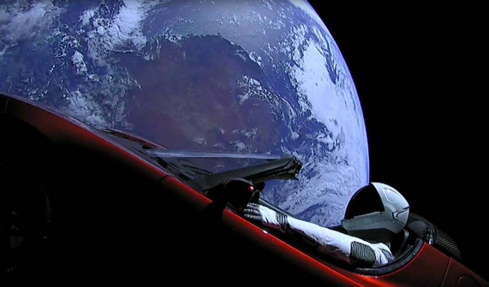 ¿Dónde está el Tesla que mandaron al espacio?