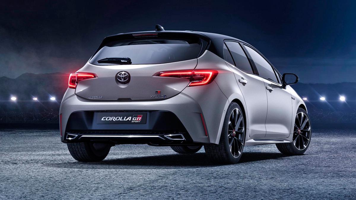 Toyota Corolla GR Sport (trasera)