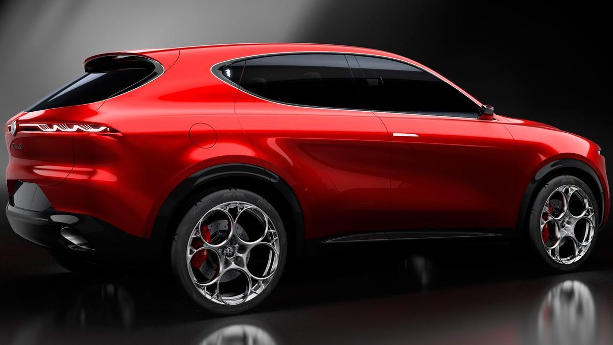 Alfa Romeo Tonale Concept (trasera)