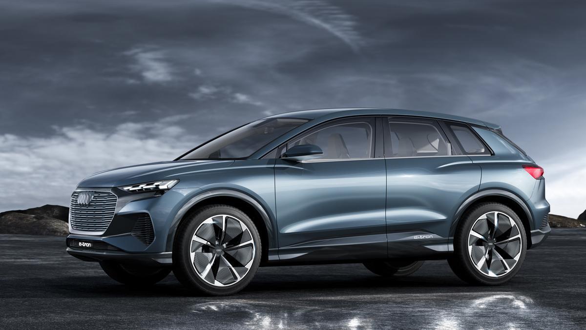 Audi Q4 e-tron concept (lateral)