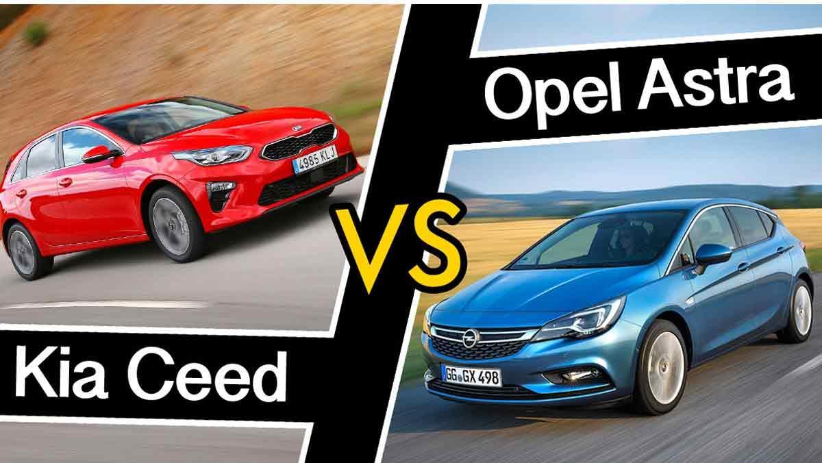 Kia Ceed vs Opel Astra