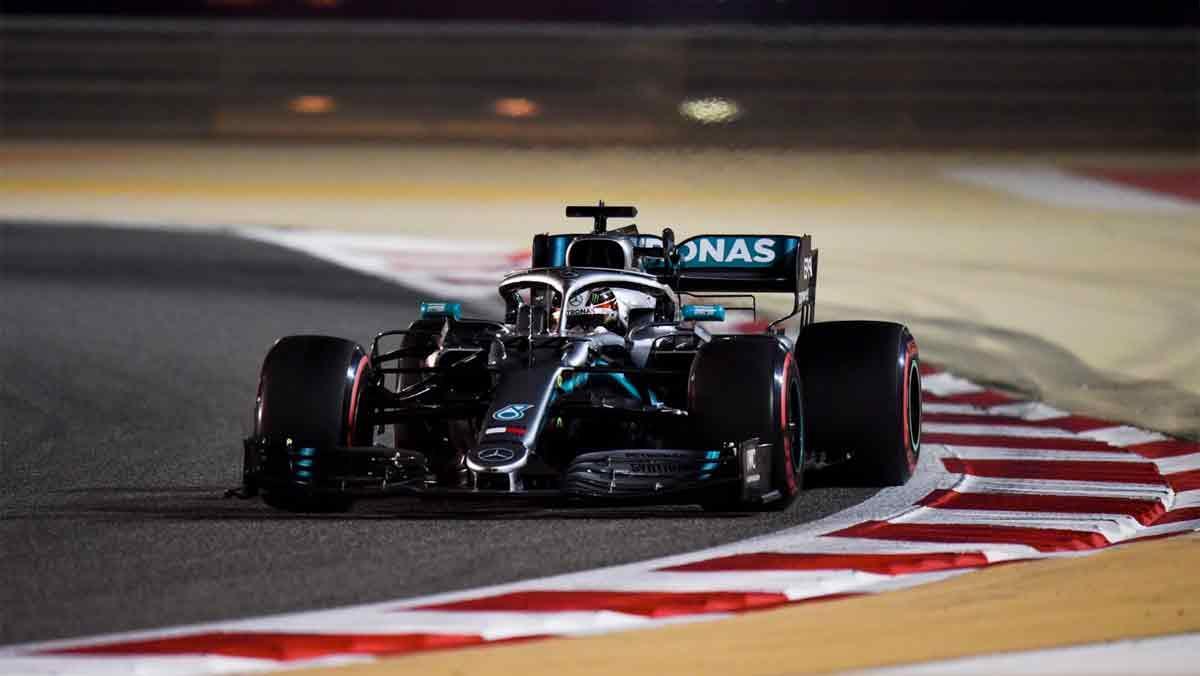Hamilton Bahrein 2019