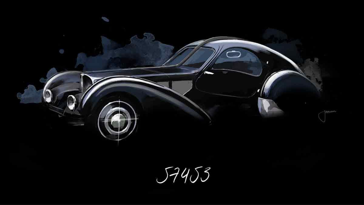 Historia Bugatti Type 57 SC