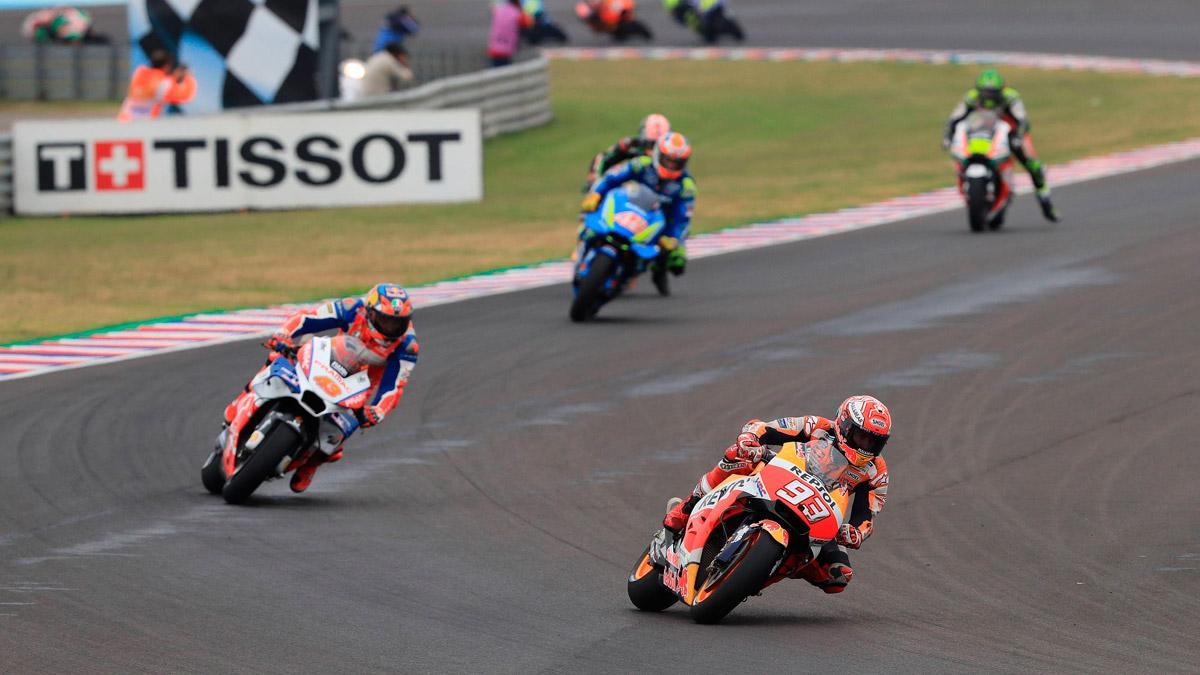 motos competicion marc marquez curva circuito