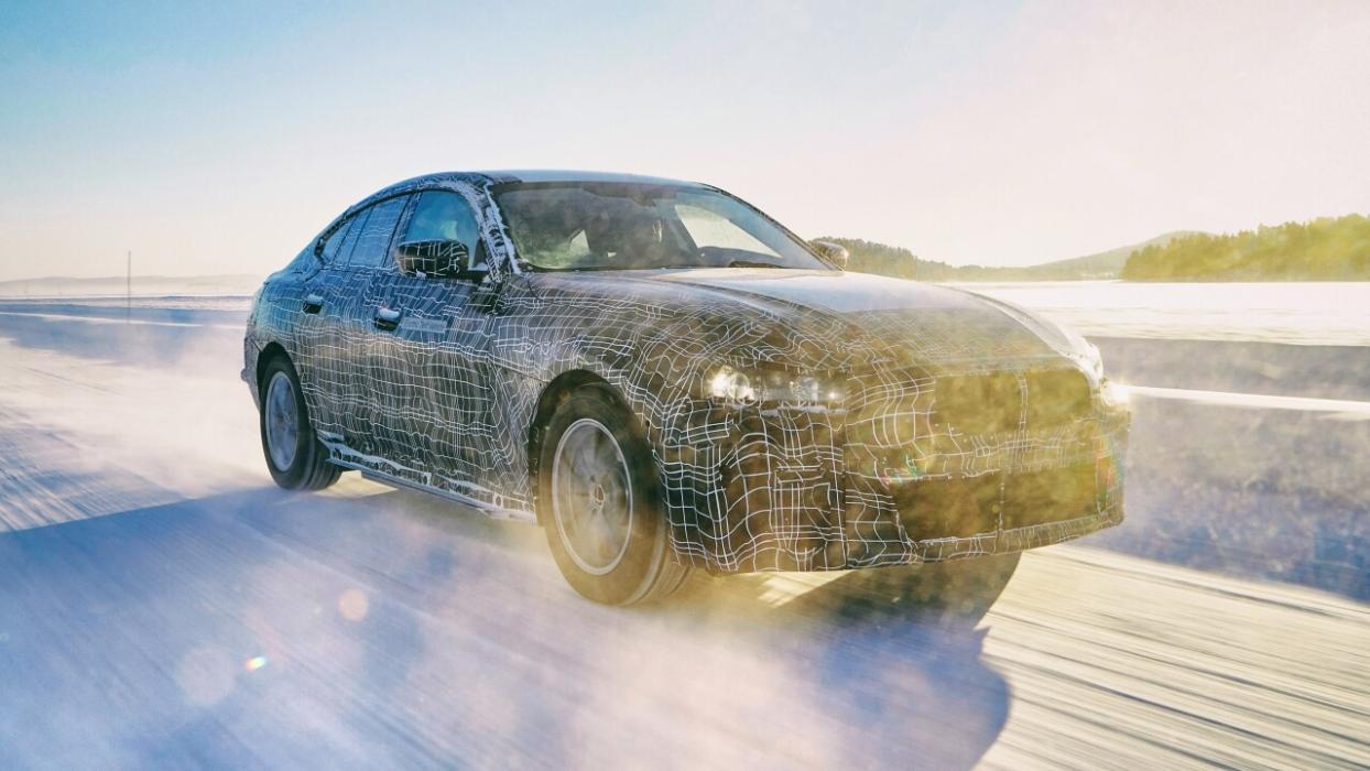 Prototipo BMW i4