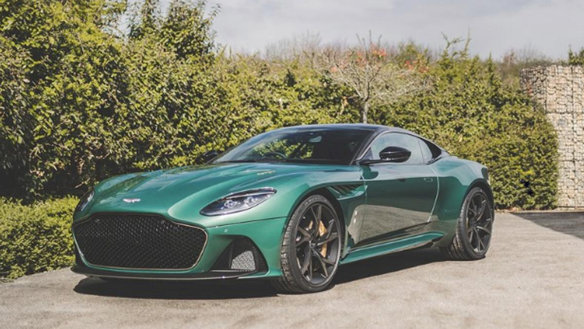 Aston Martin DBS 59 Superleggera, lateral