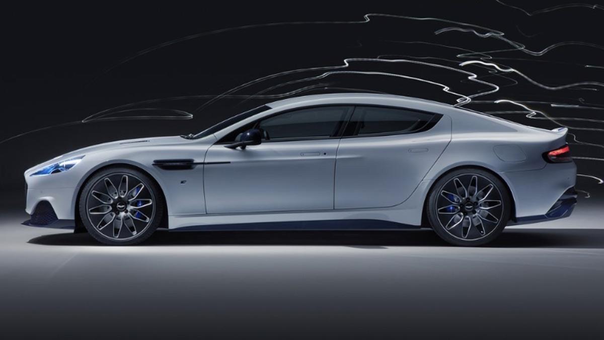 Aston Martin Rapide E, lateral