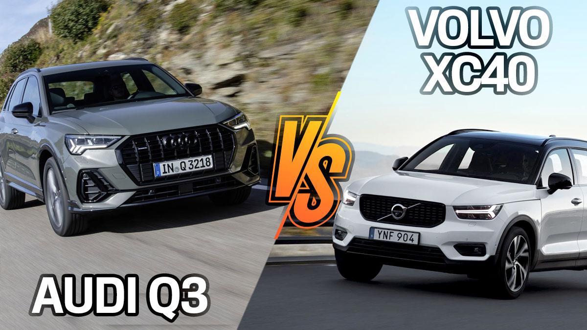 Audi Q3 vs Volvo XC40