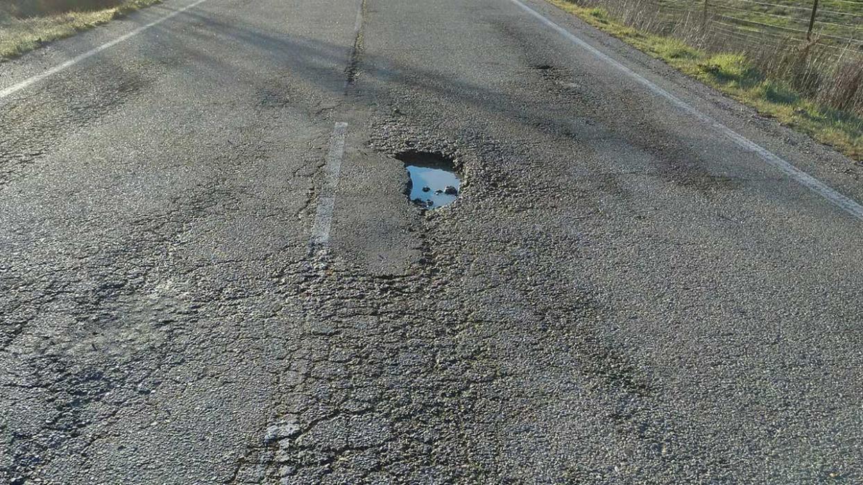 Carretera Almaraz-Valdecañas