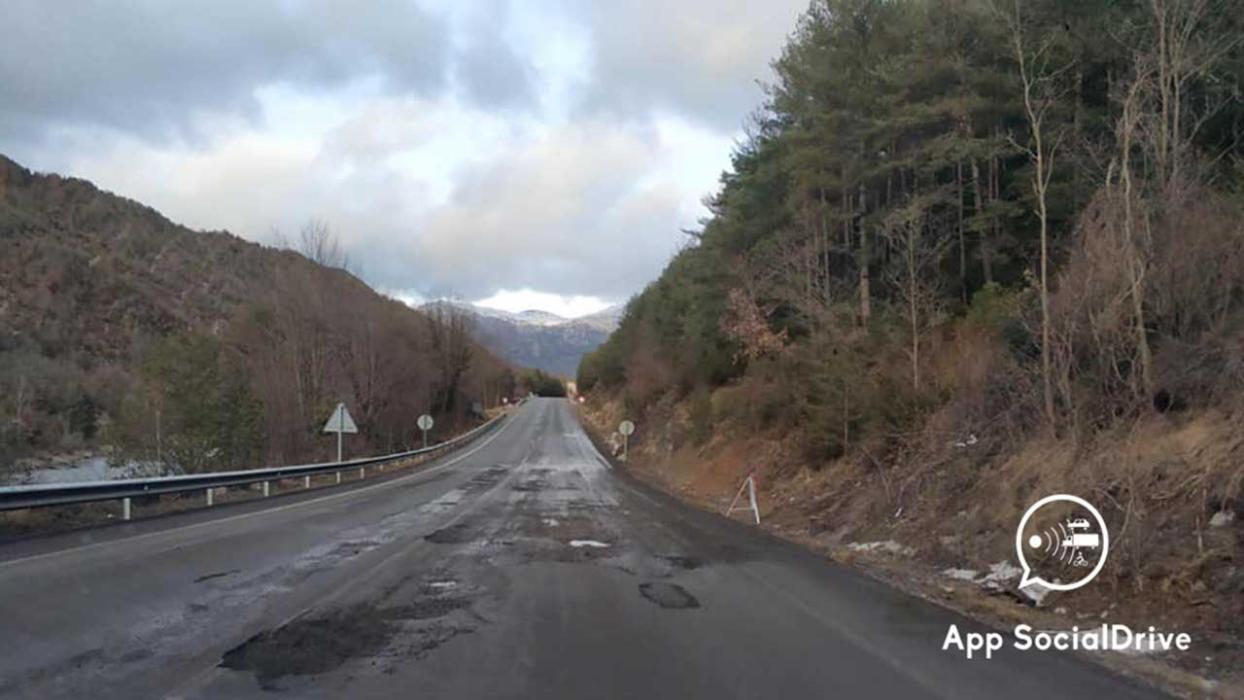 Carretera de Graus. Huesca