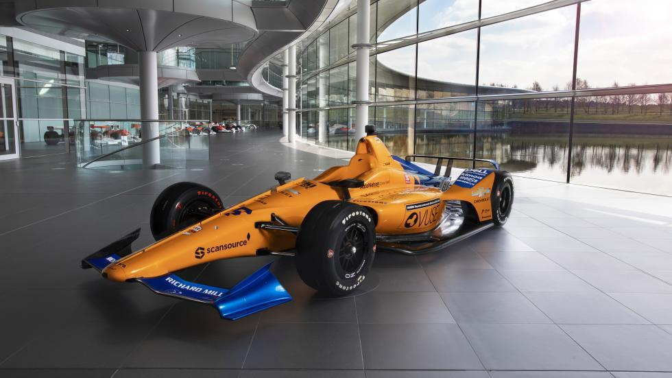 Coche de Fernando Alonso Indy 500 2019